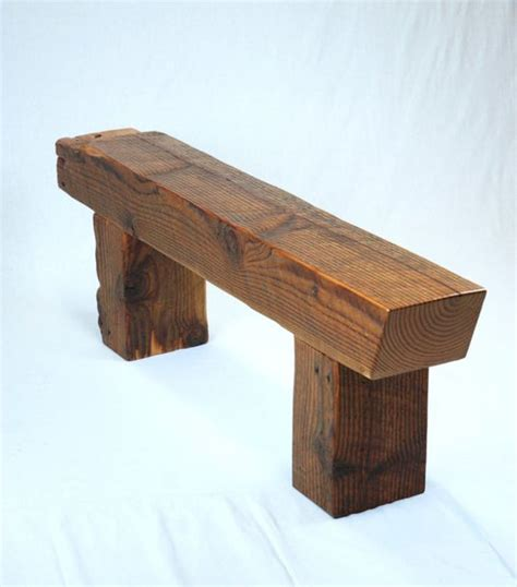 wood beam bench pinterest the world s catalog of ideas