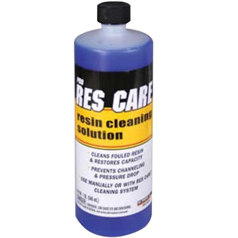 bed cleaner pro res care resin bed cleaner 1 quart