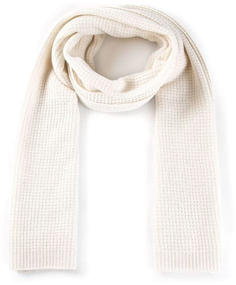knitted white scarf vince knit scarf where to buy how to wear