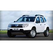 New Dacia Duster White  Driving In Line