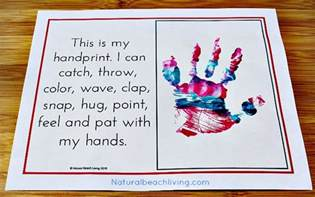 Chrismas Crafts For Kids - an absolutely adorable all about me activity natural beach living