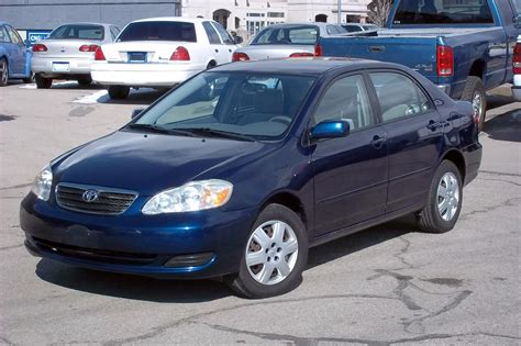 Toyota Corolla 2006 Blue Book Value 2006 Toyota Corolla Blue 200 Interior And Exterior Images