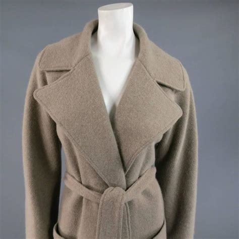 Cb285 Size L Soft Purple Knit Cardigan Outerwear Branded Import Luara ralph black label size m oatmeal taupe wool blend