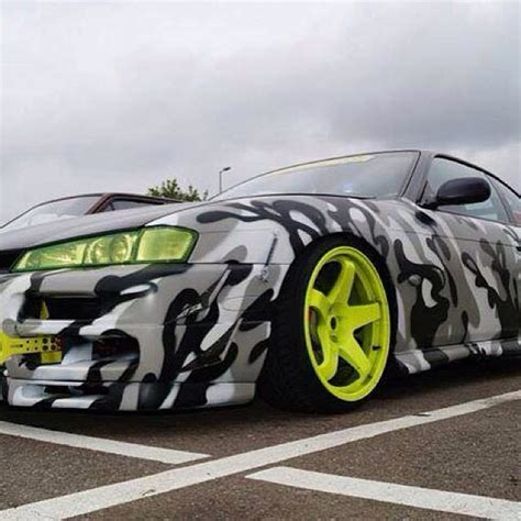 Camouflage Vinyl Wrap Kits Cars One