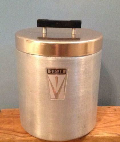 retro kitchen canisters ebay