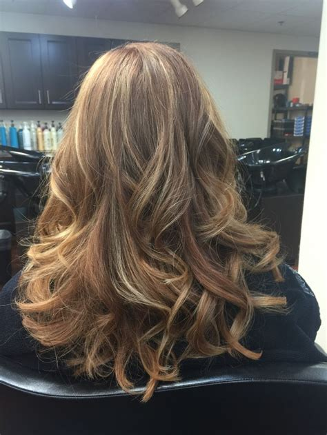 blonde base colours titian base color with strawberry blonde highlights by