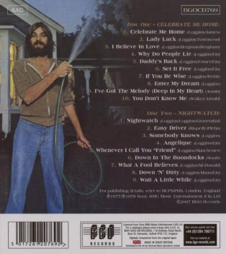 kenny loggins celebrate me home nightwatch 2009 2cd