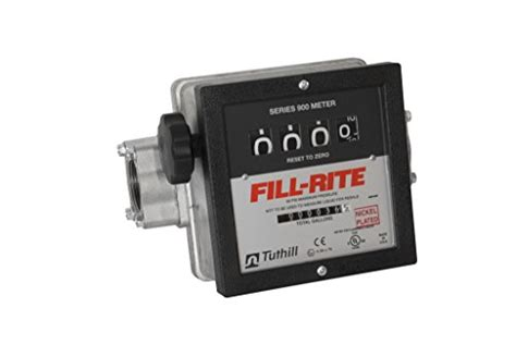 Flowmeter Fill Rite Made In Usa Size 1 1 2 fill rite 901cln1 5 1 5 quot meter 6 40 gpm nickel