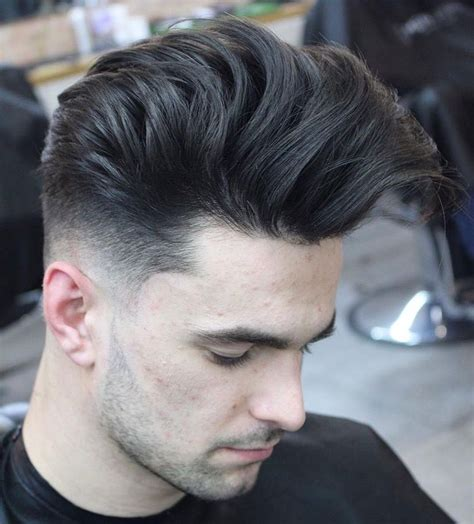 pompadour hairstyles  men mens hairstyles pompadour