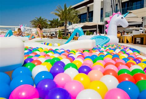 First Birthday Party Decorating Ideas Seven Pool And Beach Parties In Dubai This September