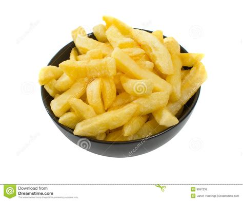 hot chips clipart bowl of hot chips over white background stock photo