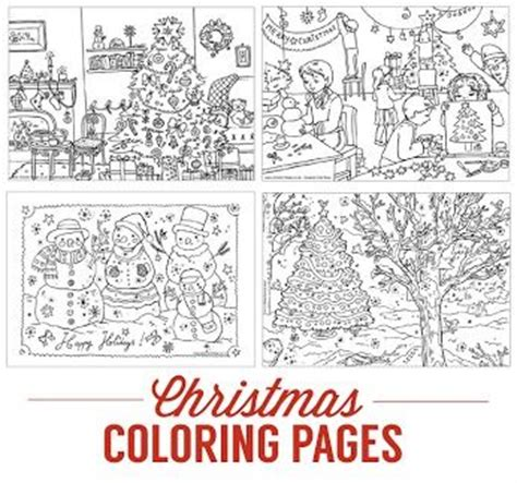 activity village christmas coloring pages from activity coloring activities