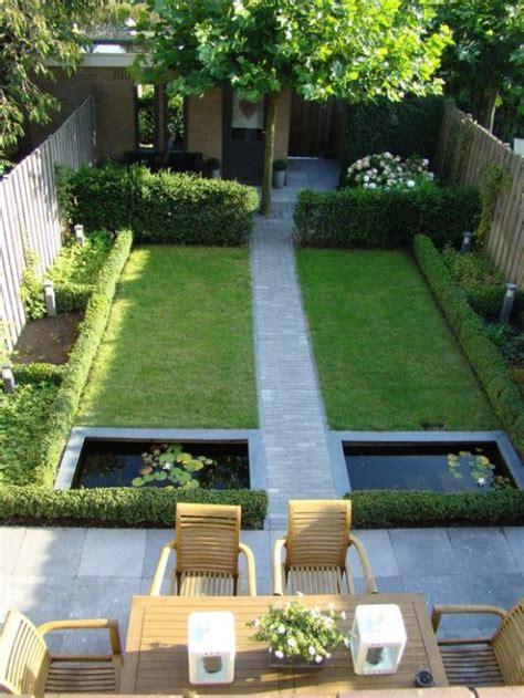 narrow garden  smart design  decor ideas gardenoholic