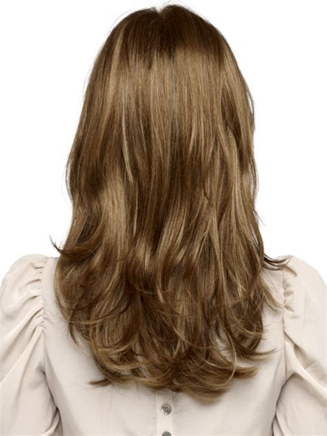 Front Hair Lighter Than Back | envy wigs monique wig long straight lace front wig with
