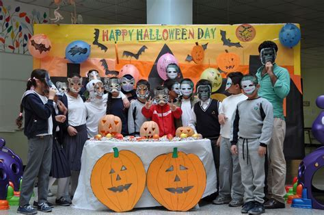 Students Celebrate Halloween Day   Kalar International School