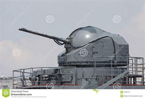 siege canon canon de bateau de bataille photographie stock libre de