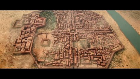 Mohenjo Daro Essay In Sindhi by Computer Generated City Of Mohenjo Daro