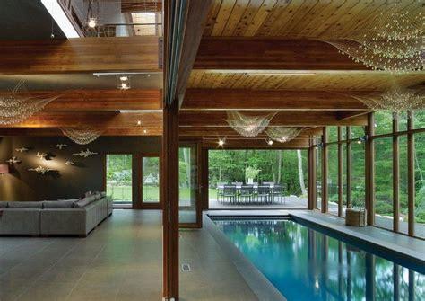 indoor pool kosten indoor pool im wohnzimmer eines ferienhauses