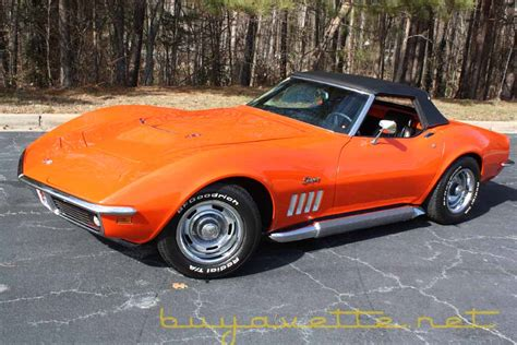 1969 corvette 427 400hp convertible for sale at buyavette