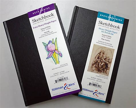 zeta sketchbook stillman birn zeta sketchbooks arrived larry d
