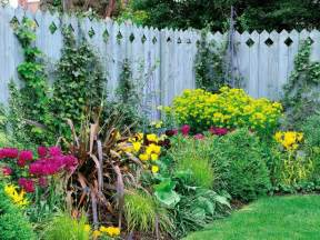 Flower Bed Fencing Dog - diy landscaping landscape design amp ideas plants lawn