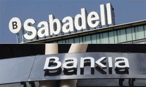 bancos de bankia el sabadell y bankia 195 186 nicos bancos que mejoran la