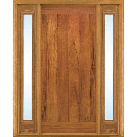 Masonite Doors Exterior Masonite 36 In X 80 In Avantguard Flagstaff Finished Smooth Fiberglass Prehung Front Door With