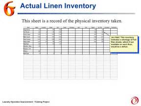 Stocktake Report Template story board laundry project