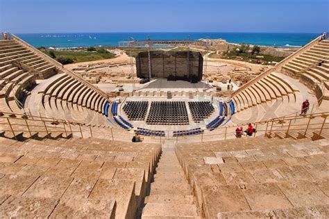 Mediterranean Home Plans With Photos by An Amphitheater Of The Period Of The Roman Invasion In