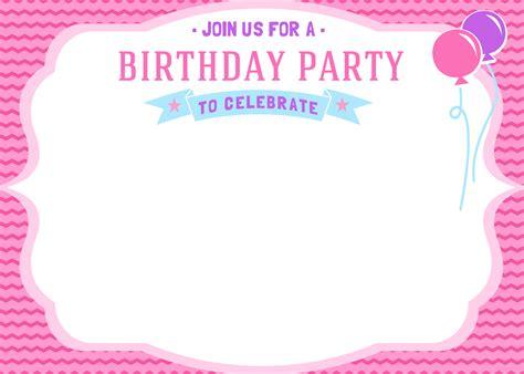 printable birthday invitations girl free girls birthday invitation printables mama walker