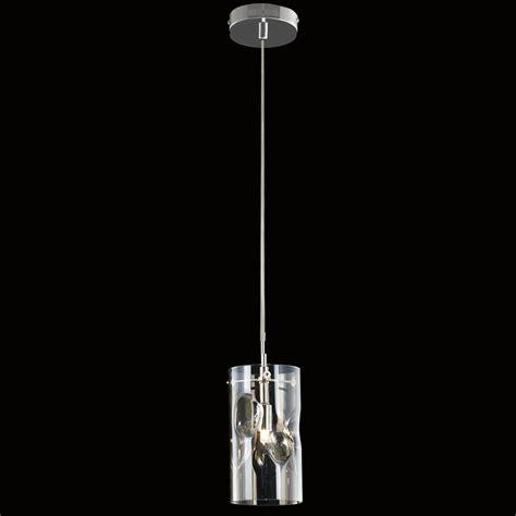 Halogen Pendant Lights Illuminati Venus Single Light Light Halogen Ceiling Pendant In Polished Chrome Finish With