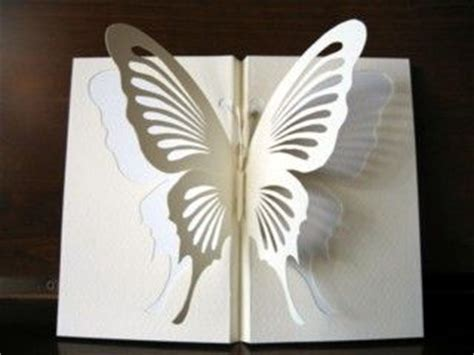 butterfly pop up card template paper cutting templates kirigami monarch butterfly
