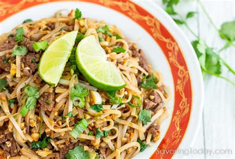 how to make red boat fish sauce excellent beef pad thai recipe red boat fish sauce