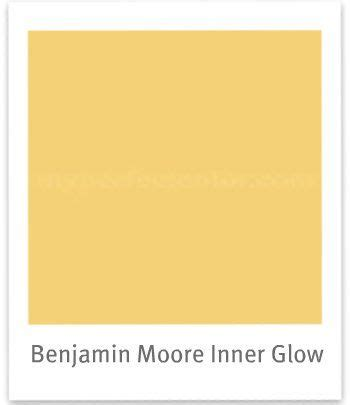 benjamin glow and yellow on