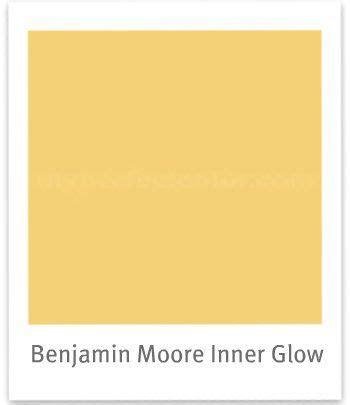 benjamin glow and yellow on