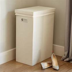 Mudroom Size linen poppin laundry hamper with lid the container store