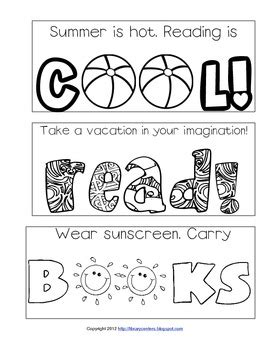 summer colouring bookmarks summer reading printable bookmarks to color by library