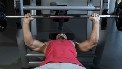 bench press 90 degrees or to chest build bigger triceps with this dumbbell tricep extension