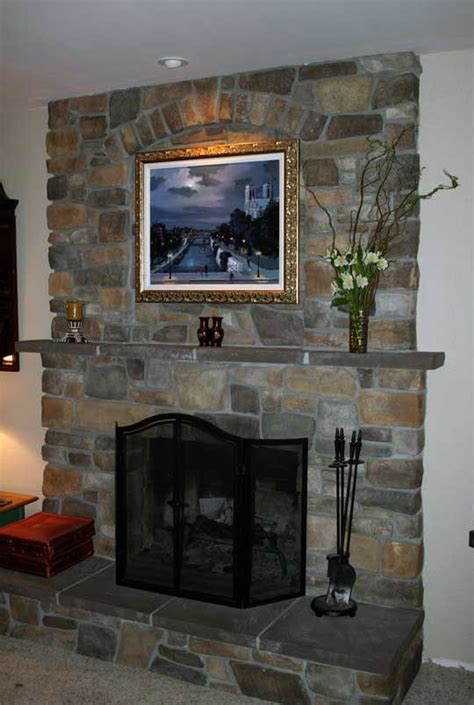 Where To Place Tv In Living Room With Fireplace by Fireplace Resurfacing With A Tv And Wood Stove Insert