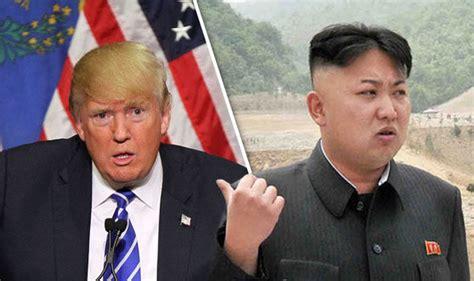 donald trump and kim jong un kim jong un blasts donald trump as a death merchant