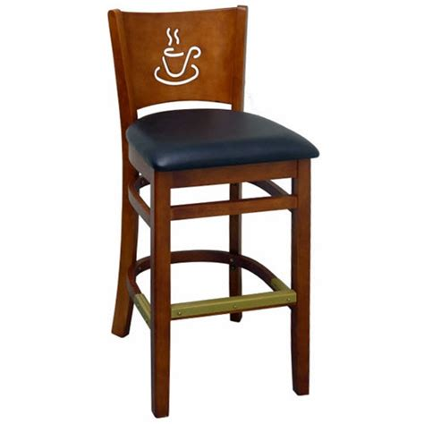 cafe bar stools cafe wood restaurant bar stool
