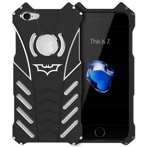 Casing Oppo Neo7 Batman Custom r just batman shockproof aluminum shell metal with custom stent for iphone 7 plus samsung
