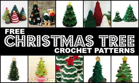 wigjig christmas tree pattern crochet treasures 10 free christmas tree crochet patterns