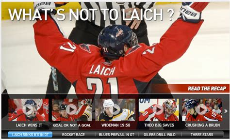 hard feed from purcell nhl video highlights and more sporting news nhl tries too hard with their headlines