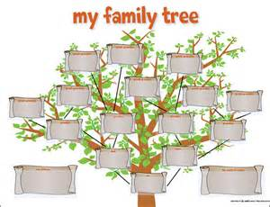 Free Family Tree Template With Pictures by Family Tree Template 29 Free Documents In Pdf