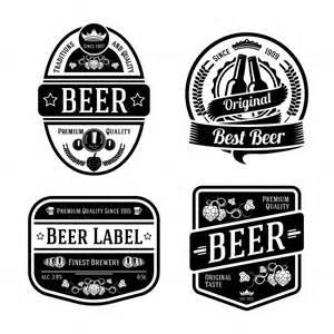 vector set beer labels bonus templates on creative
