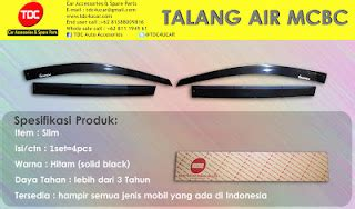 Karpet Talang Air Per Meter model talang air car visor