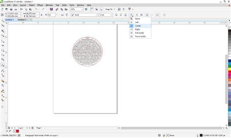 membuat tulisan berjalan pada video cara membuat teks tulisan didalam objek pada coreldraw