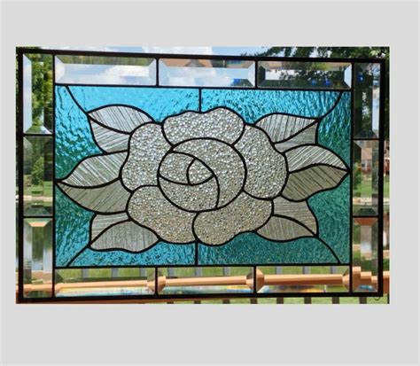 stained glass window panels stained glass panel window clear stained glass