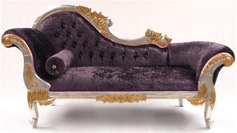 purple crushed velvet chaise medium chaise longue hshire barn interiors